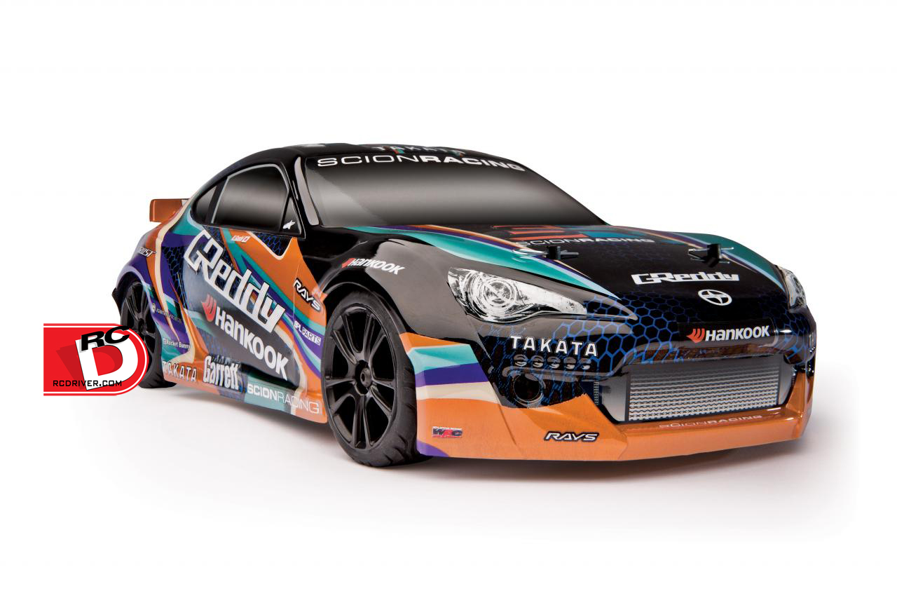 Team Associated - Apex Scion Racing FR-S GReddy & FR-S GReddy LiPo Combos copy