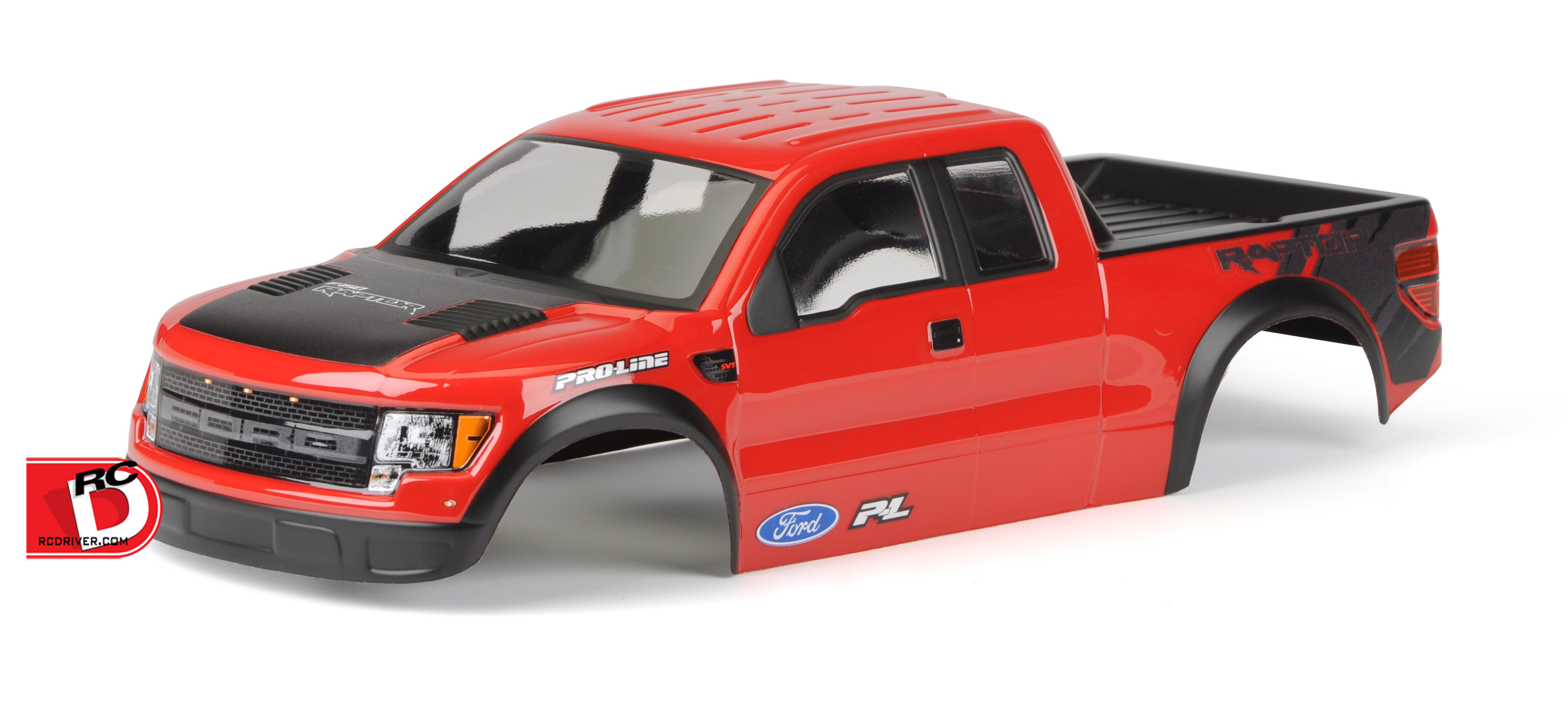 Pro-Line - Pre-Cut and Painted Ford F-150 Raptor SVT Body for the Stampede copy