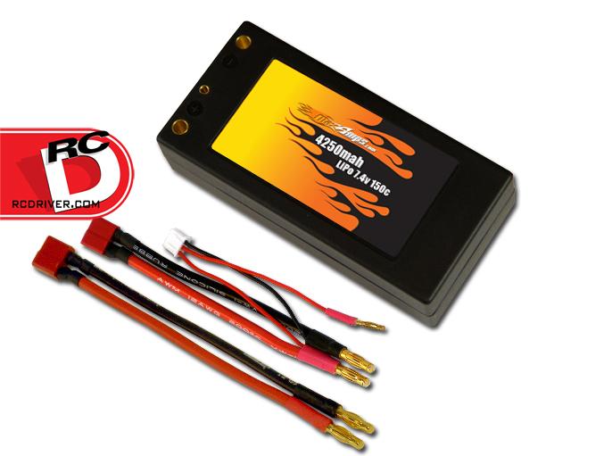 MaxAmps 4250mAh 2s, True 150C Shorty LiPo Battery Pack