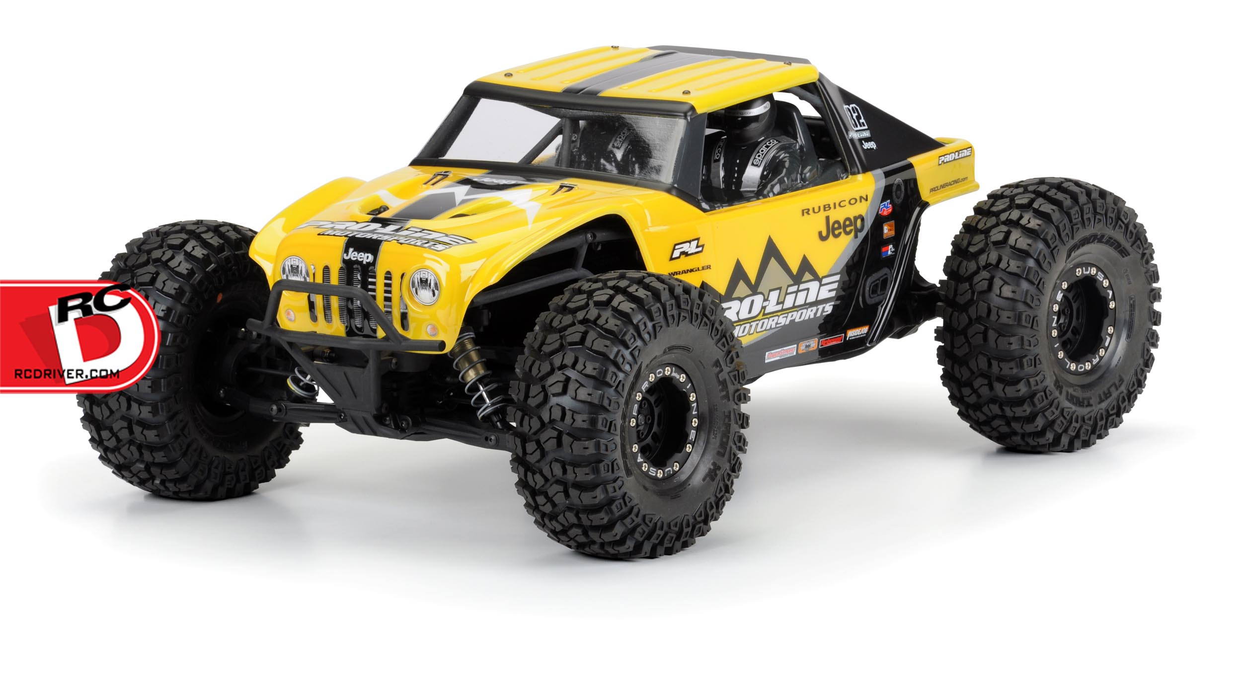 Pro-Line - Jeep Wrangler Rubicon Clear Body For The Yeti copy