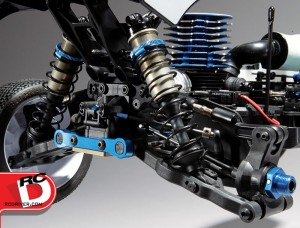 Team Associated RC8B3 Rear Suspension