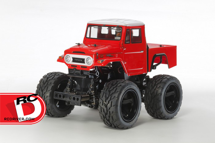Tamiya - Toyota Land Cruiser 40 Pick-Up with Red Painted Body (GF-01) copy