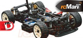 ABC Hobby Gambado NAKED rcMart Limited CFRP Ver. 1/10 Mini FF EP Car Kit is now available to be ordered outside Japan