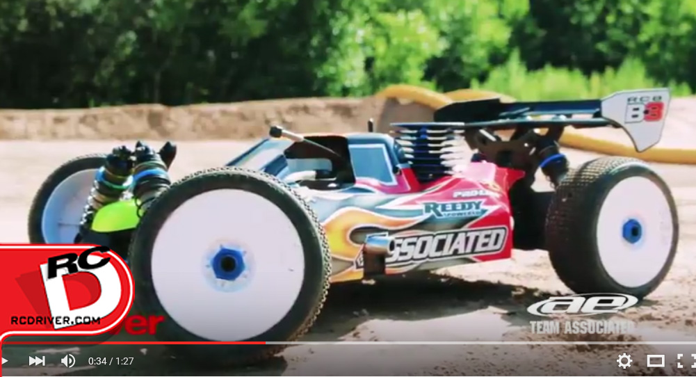 Team Associated RC8B3 RC Driver Vehicle Week Teaser