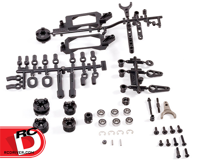 2-speed HiLo Transmission conversion kit for the 110 scale YETI transmissions