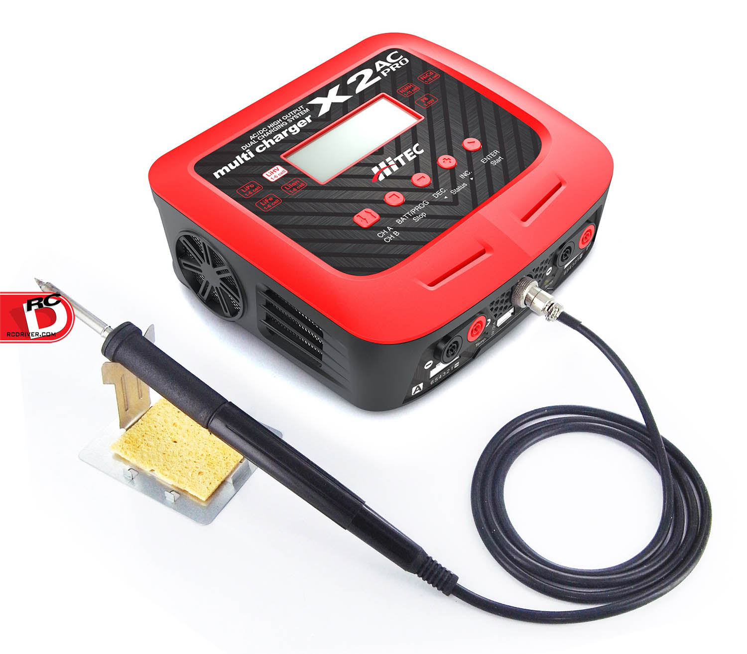 Hitec - X2 AC Pro - ACDC Multi Charger and Soldering Iron (2) copy