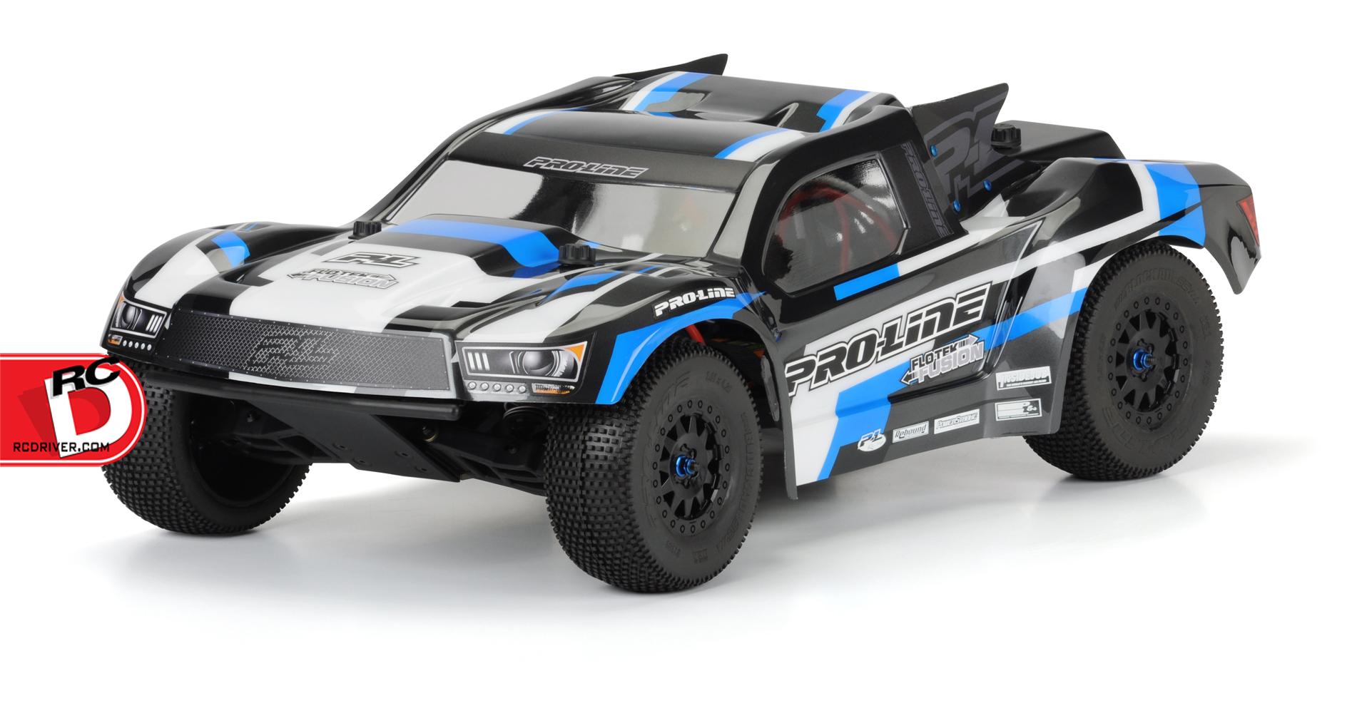 Pro-Line - Pre-Cut Flo-Tek Fusion Clear Body copy