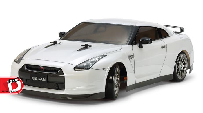 Tamiya - Nissan GT-R Drift Spec - TT-02D copy