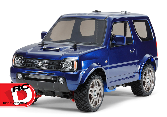 Tamiya - Suzuki Jimny JB23 - MF-01X Met with Blue Painted Body copy