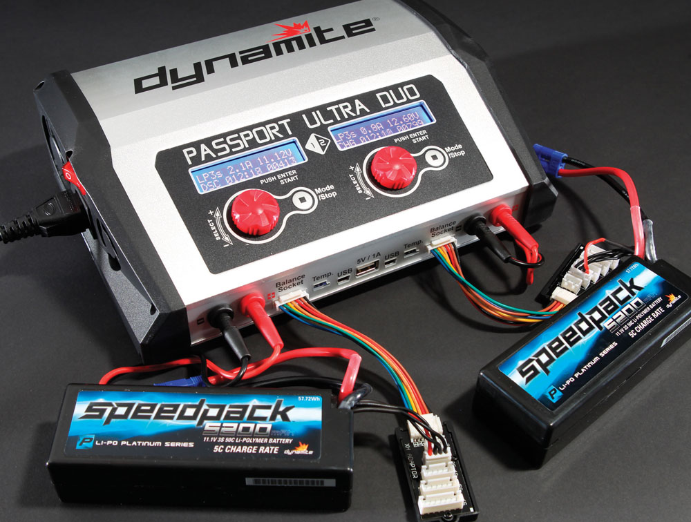 Review: Dynamite Passport Duo 400W Dual Charger