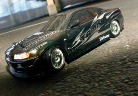 Review: Tamiya TA05 VDF II Drift Car
