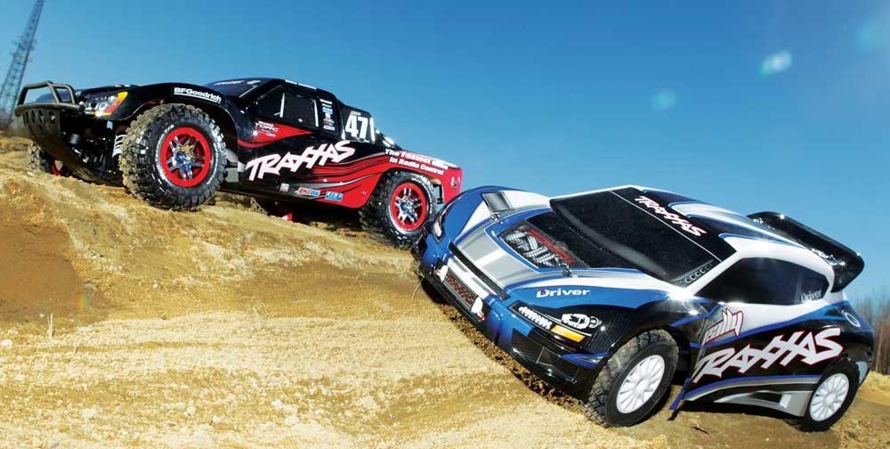 Traxxas Rally vs  Traxxas Slash 4x4