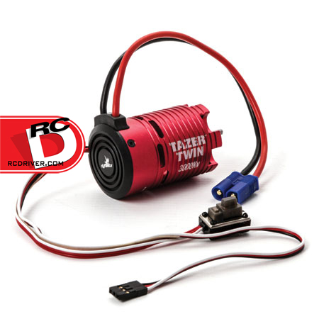 Dynamite - Tazer Twin Brushless 3300kv Motor-ESC Combo copy