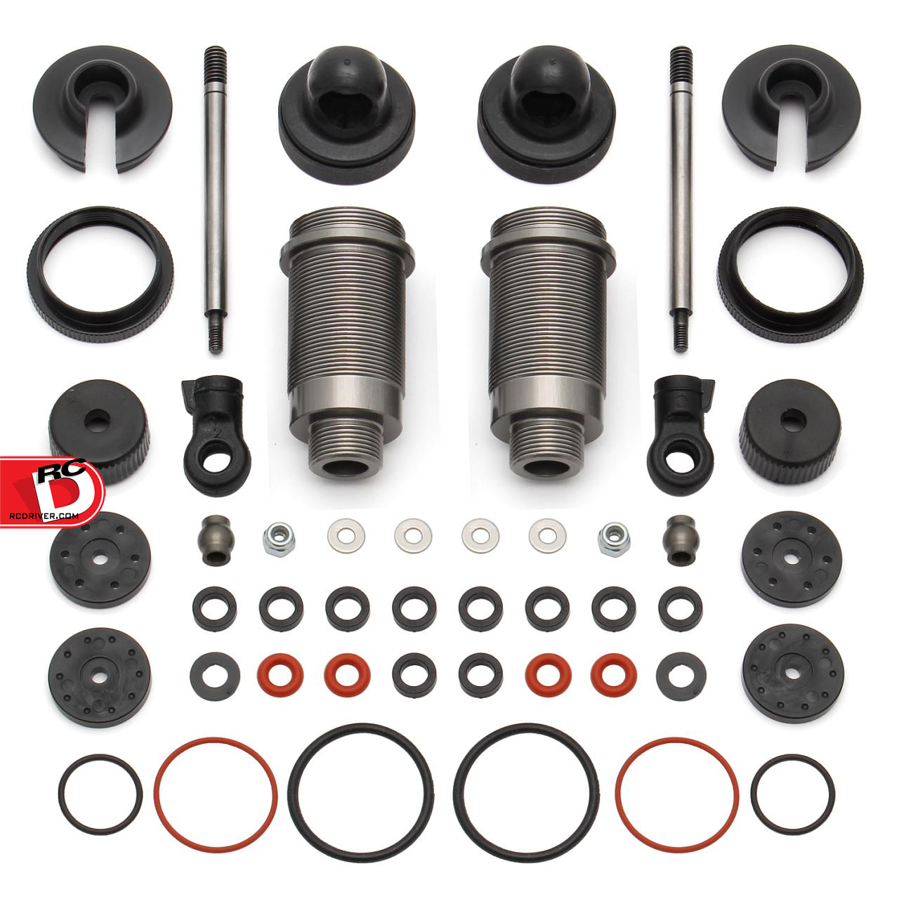 FT ProLite 4x4, ProSC 4x4, and ProRally 16mm Threaded Aluminum Shock Kit for Qualifier 4x4 Series copy