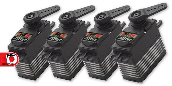 HiTec - D940TW, D945TW, D950TW & D980TW Titanium Geared Servos copy