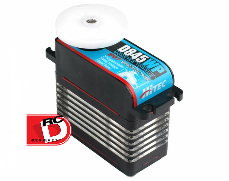 Hitec - D-840WP and D-845WP Steel Gear Waterproof Servos_2 copy