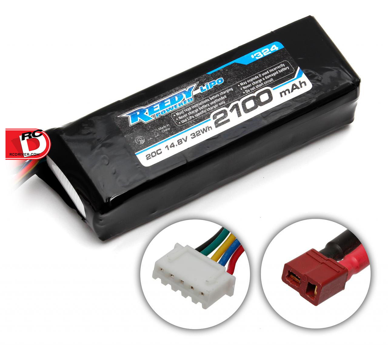 Team Associated - Reedy 2100mAh 20C 14.8V LiPo Starter Box Battery