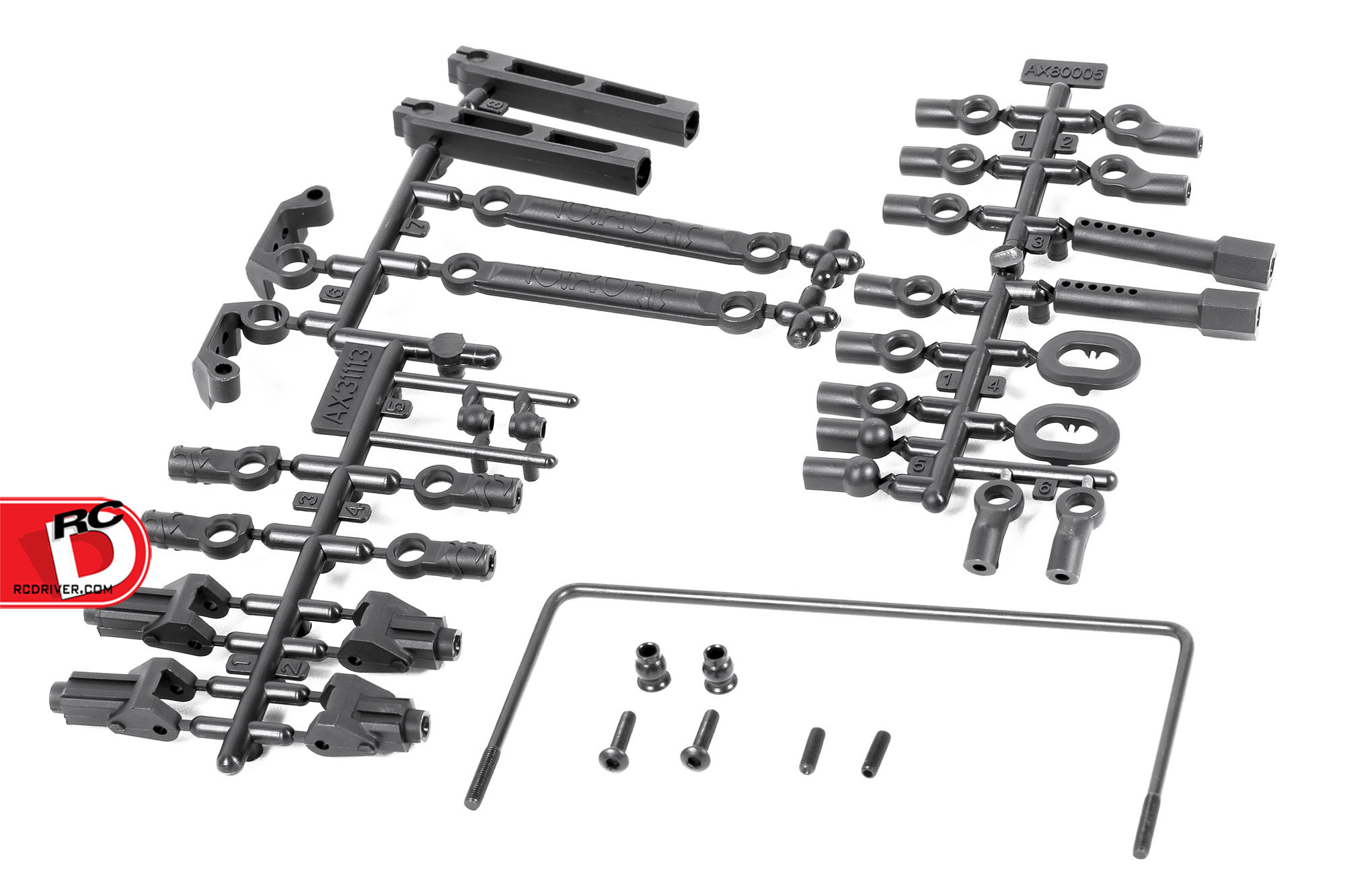 Axial Racing - RR10 Soft Rear Sway Bar Set copy