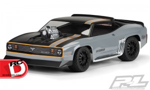 Transform your short course truck into a fire-breathing, road-crushing 1970's muscle car with the all-new Pro-Line Desert Eagle Body