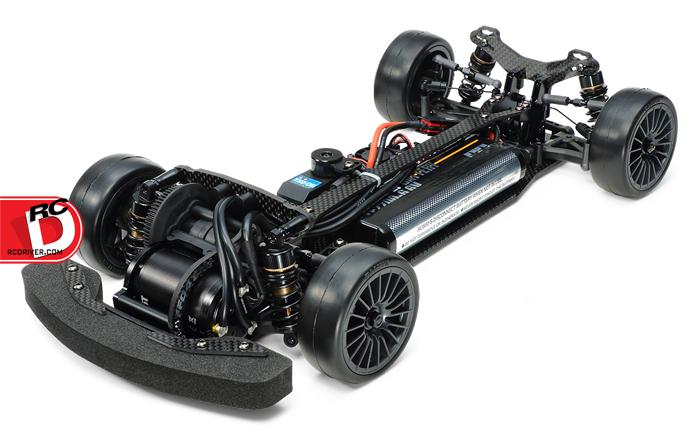 Tamiya - FF-04 EVO Chassis Kit Black Edition copy