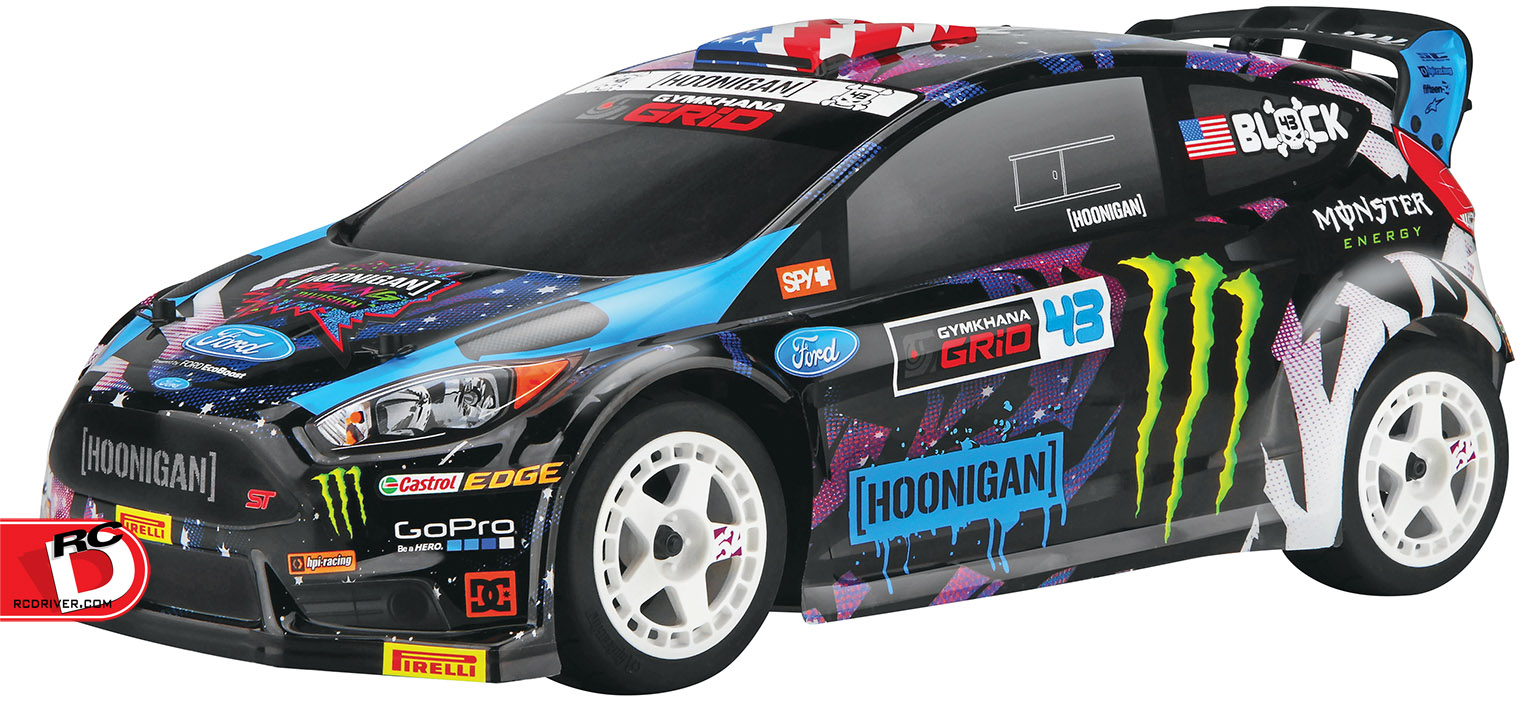 HPI Racing - Ken Block 2015 Ford Fiesta WR8 Flux BL 4WD RTR copy