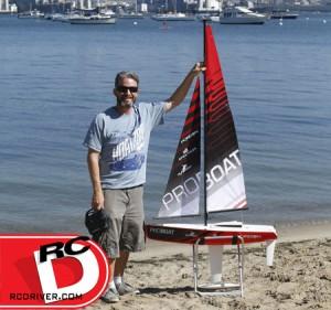 Pro Boat - Ragazza 1-Meter Sailboat