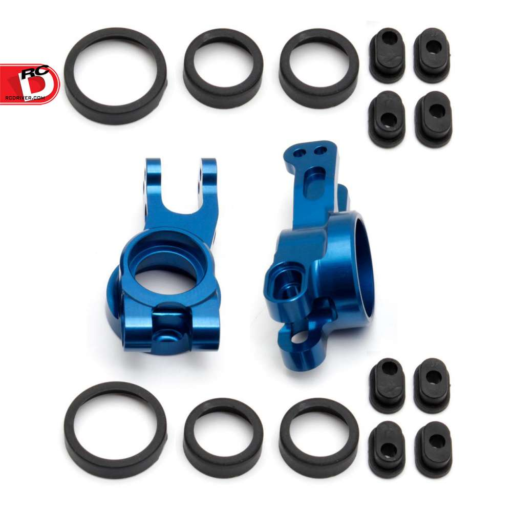 Team Associated - Factory Team Rear Hubs for the RC8B3 and RC8B3e copy