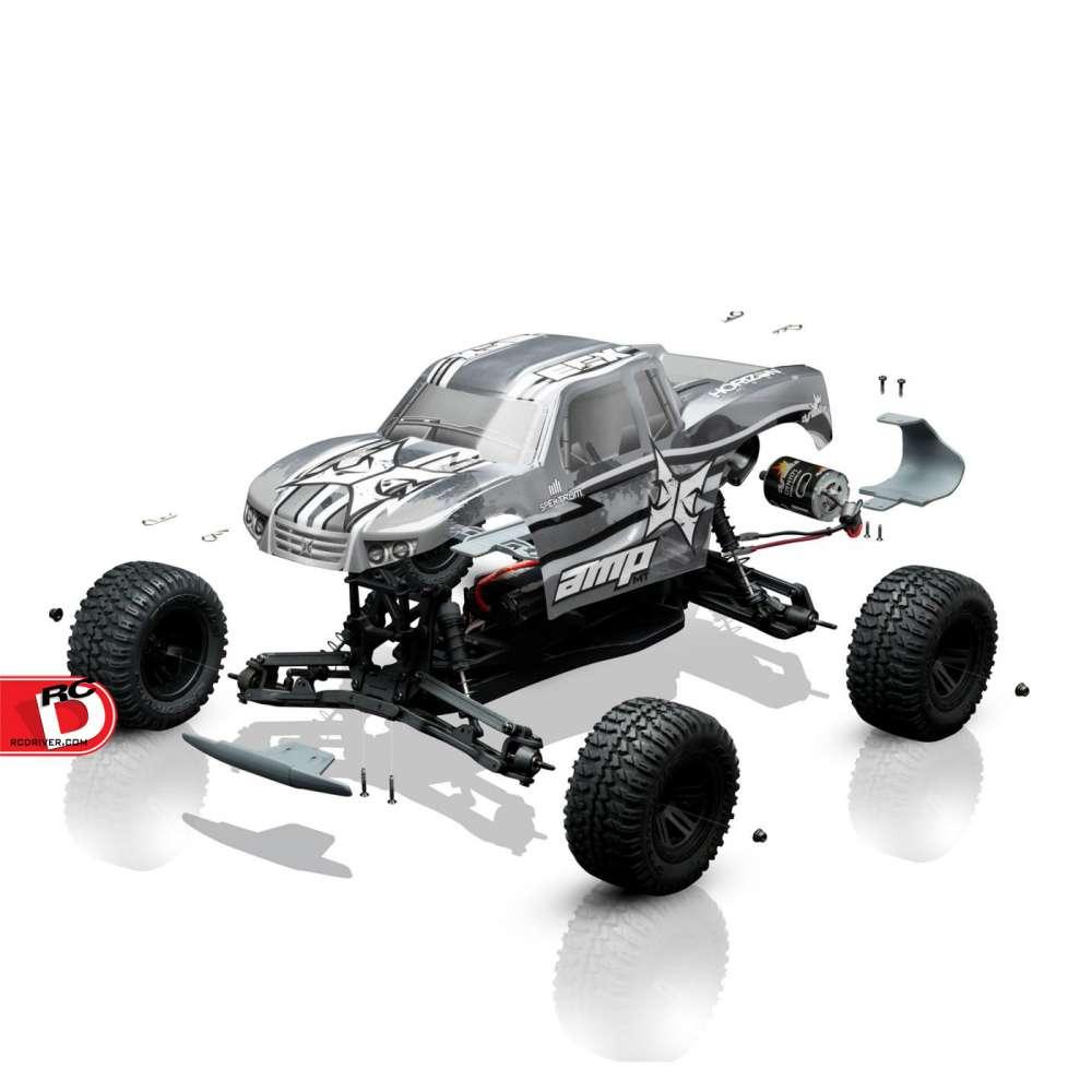 Rc Car Racing >> ECX RC - AMP MT Build-To-Drive Kit_2 copy