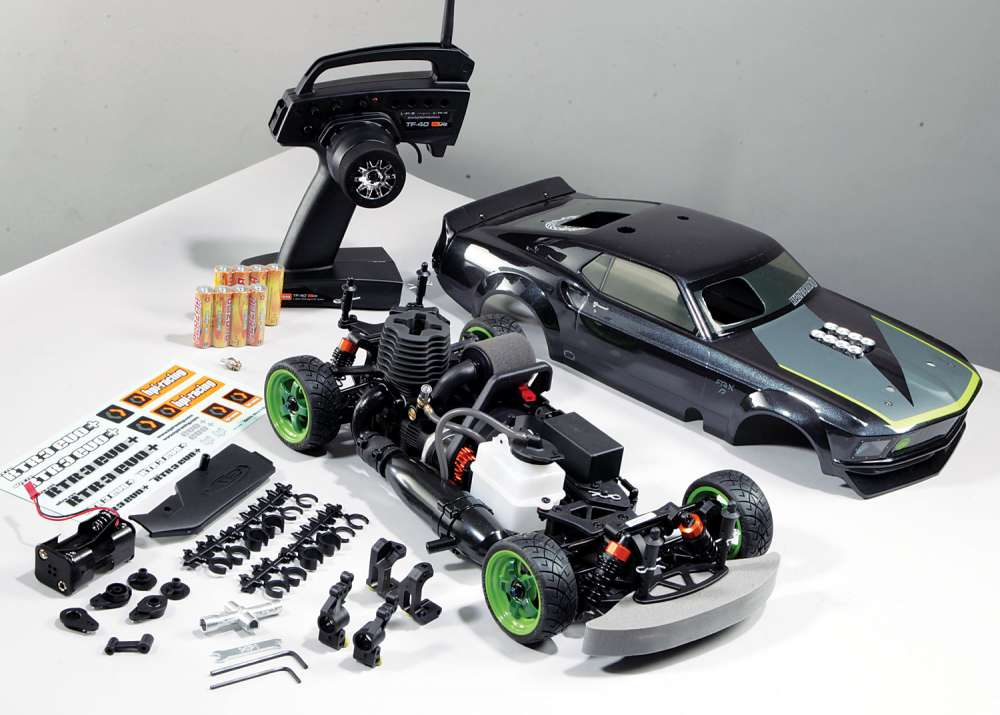 Review Hpi Nitro Rs4 3 Evo Mustang Rtr X