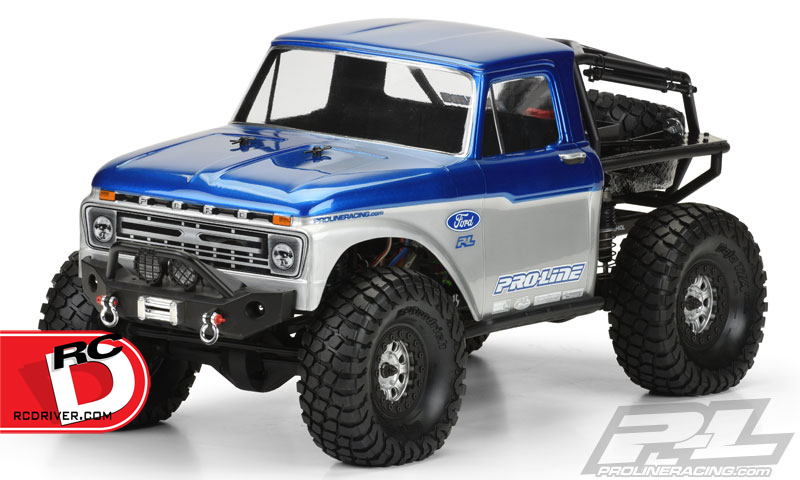 Pro-Line - 1966 Ford F-100 Body for the SCX10 Trail Honcho copy