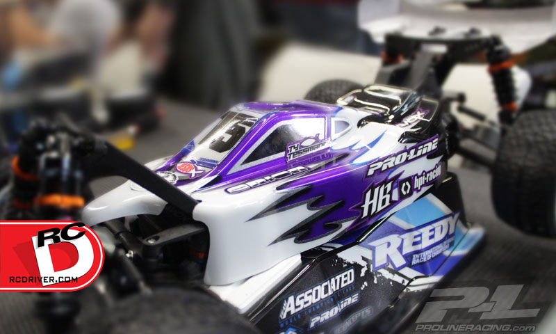 Pro-Line - Type-R Body for the HB D216 copy