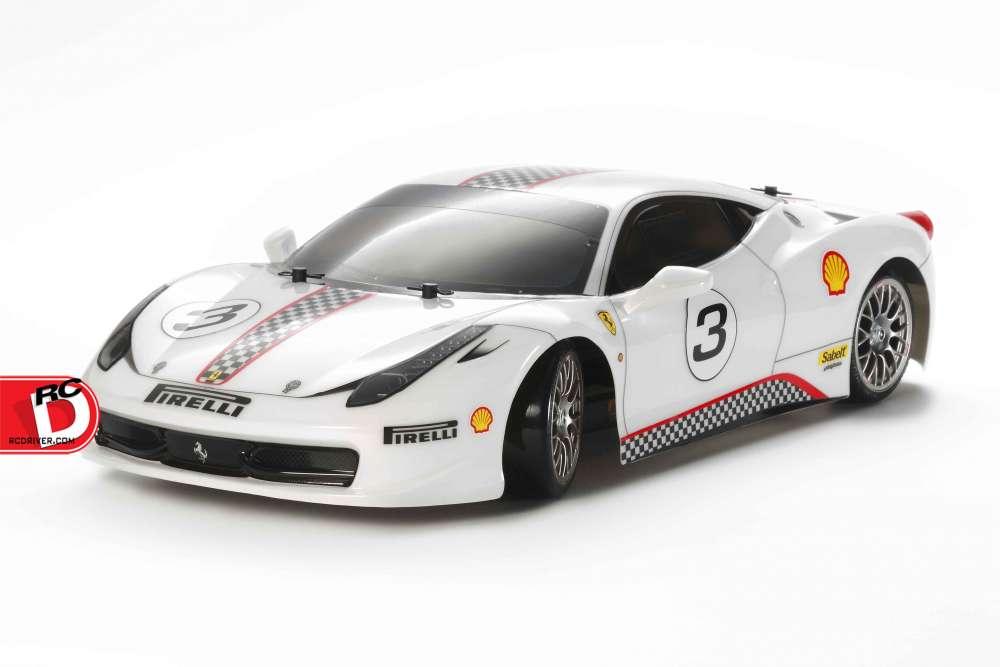 Tamiya - Ferrari 458 Challenge TT-02D Drift Spec copy