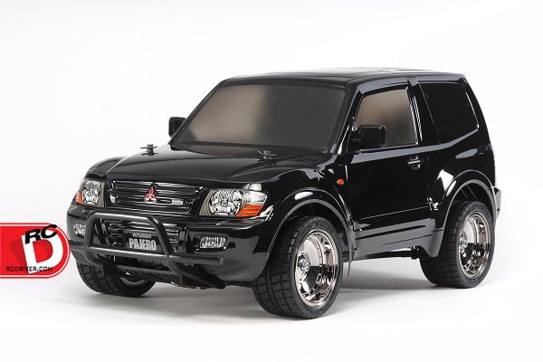 Tamiya - Mitsubishi Pajero with Custom Lowrider Black Body – CC01 copy