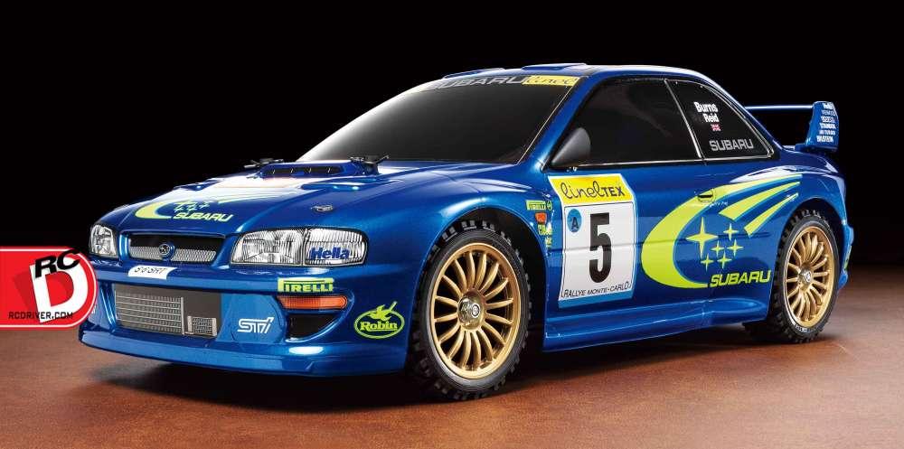 Tamiya - Subaru Impreza Monte-Carlo '99 - TT-02 copy