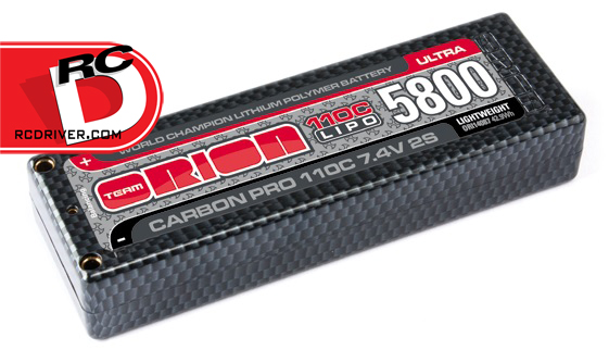 Team Orion - Carbon Pro ULTRA 110C LiPo Packs copy