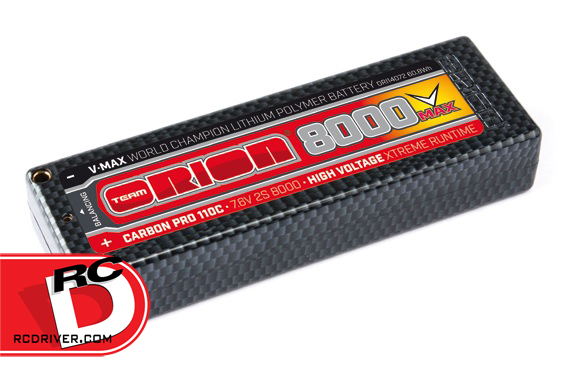 Team Orion - Carbon Pro V-Max 110C Outlaw HV Racing LiPo Packs copy