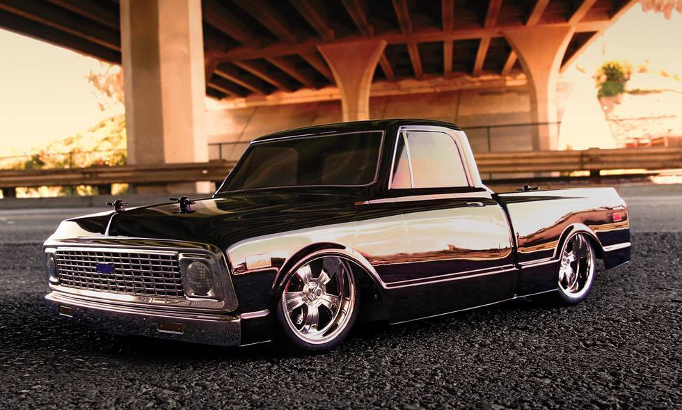 Chevy Silverado Pro Touring Clear Body For Short Course