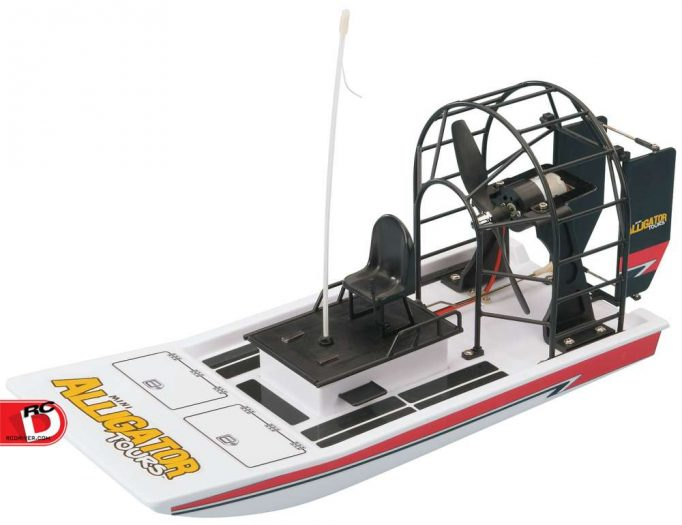 AquaCraft Models - Mini Alligator Tours RTR with Tactic 2.4GHz Radio System