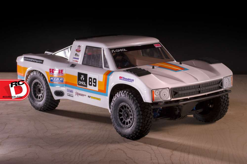 Axial - SCORE Retro Trophy Truck Body copy