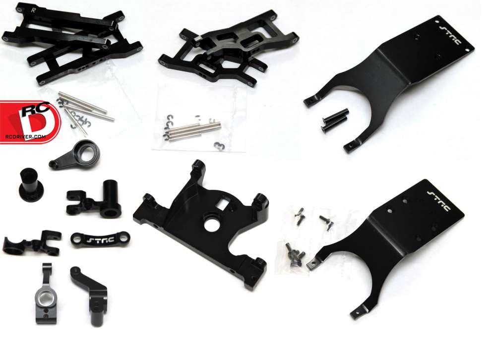 STRC - Limited Edition Black Anodized Option Parts for Slash 4x4 and Slash 2WD_COPY