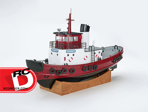 AquaCraft - Atlantic II Tugboat with Tactic TTX491 4-Channel 2.4GHz Radio