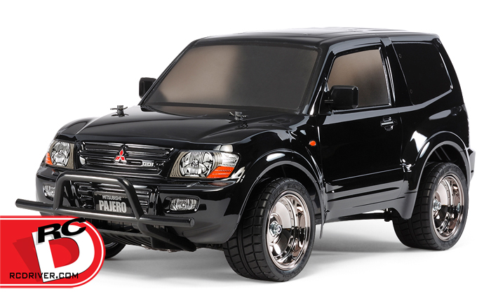 Tamiya - Mitsubishi Pajero Custom Lowrider Black Special with Painted Body copy