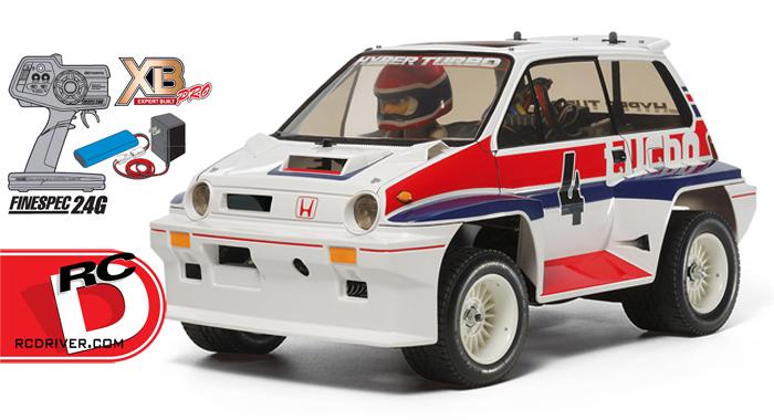 Tamiya - XB Honda City Turbo RTR copy